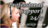 24/7 Professional Support. Signup NOW!